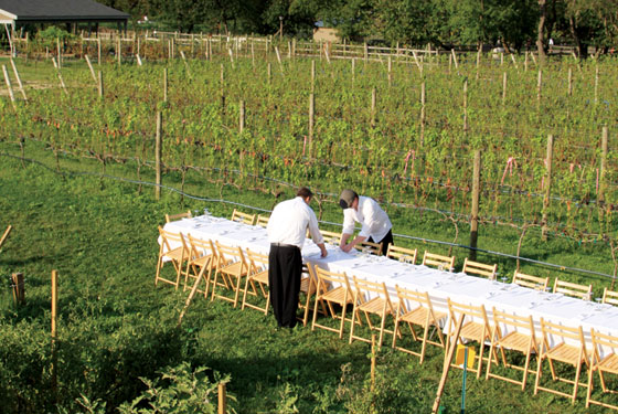 Outstanding In The Field Offers Five Course Dinners At Queens