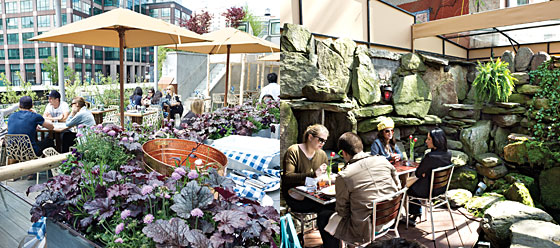 The City S Best New Outdoor Spaces For Dining And Drinking