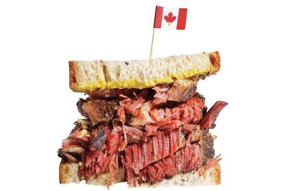 how to bring meat in canada