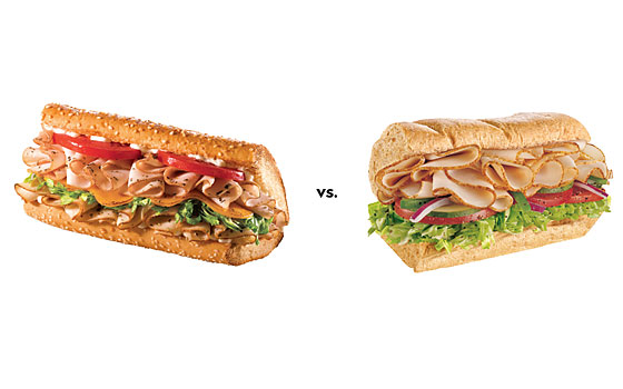 a comparison of fast food companies subway and blimpies Blimpie is the only sub shop franchise that offers franchisees the opportunity to launch a low cost sub sandwich franchise business with a brand name that has been associated with the best sandwich franchise and fresh-sliced subs on the market for more than 50 years.
