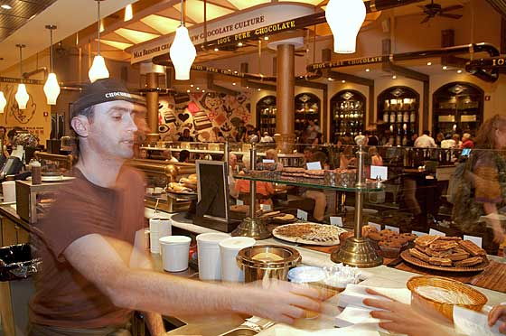 Max Brenner Chocolate By The Bald Man New York Magazine