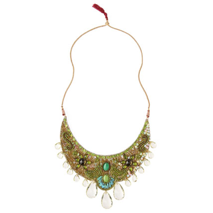 Livia Necklace - Anthropologie.com :  necklace jewelry statement necklace seed beads