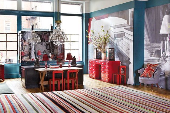 Christopher And Suzanne Sharp S Soho Store The Rug Company
