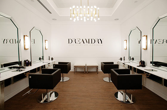 New York City Salon Opening Rachel Zoe S Dreamdry New
