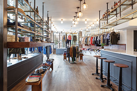 new york city store opening gant rugger and todd snyder