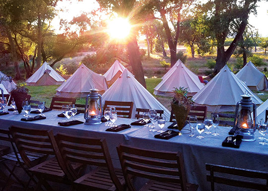 New York Wedding Guide Camping Reception Locations