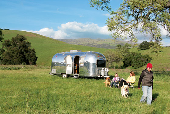 Winter travel 2010 relaxing vacation ideas new york for Airstream rentals santa barbara