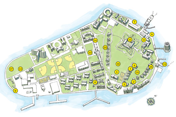 Where To Bike Climb And Snack On Governors Island New York - Governors of new york