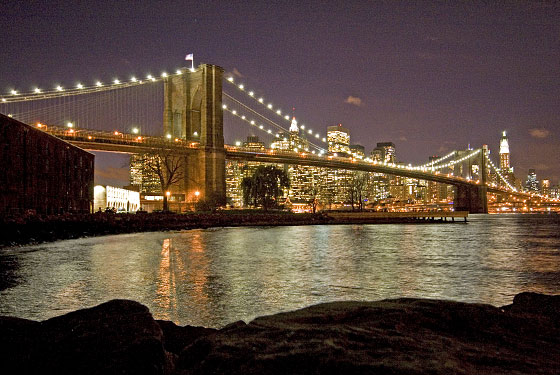 Hotels with brooklyn bridge view the view from brooklyn for Adagio new york
