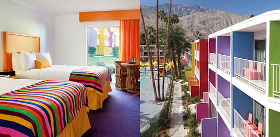 Merveilleux The Saguaro Features Splashes Of Colors Inside Rooms And Throughout The  Property.