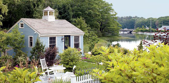 The weekend escape plan kennebunkport new york magazine for Maine cottage house plans