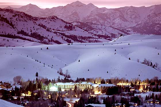 The Sun Valley Lodge