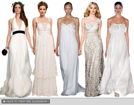 New York Wedding Guide Brides Bohemian Gowns New York Magazine