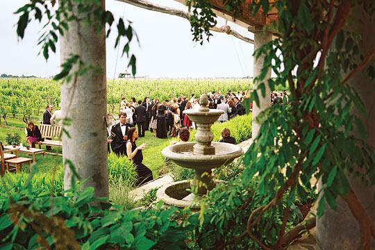 New York Wedding Guide The Reception Outdoor Venues