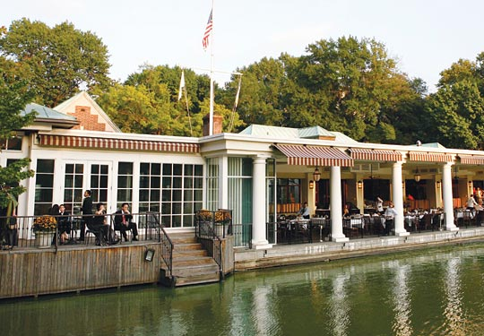 Le bon plan romantique avec le restaurant The Central Park Boathouse