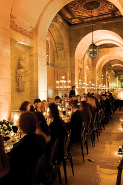 New York Weddings Guide The Reception Eight Fantasy Venues and