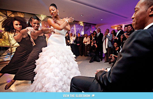new york wedding guide the reception choreographed wedding