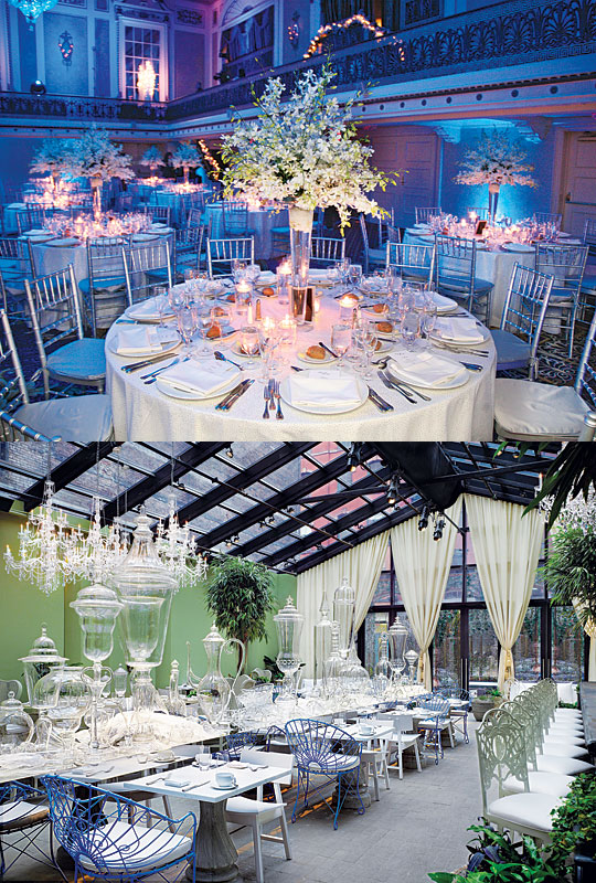 New york wedding guide the reception new and classic for Small nyc wedding venues