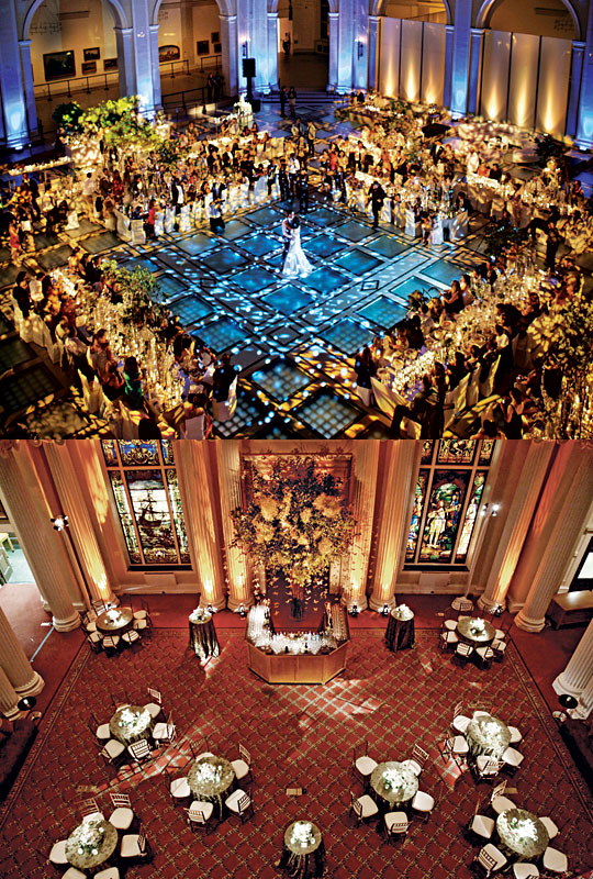 New york wedding guide the reception new and classic for Small wedding venues ny