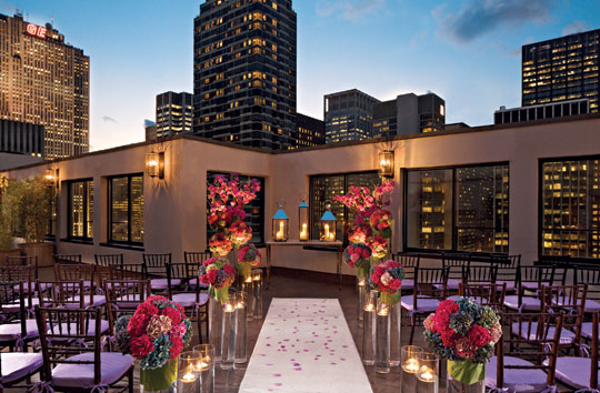 New york wedding guide the reception indoor outdoor reception photo courtesy of the peninsula new york junglespirit Choice Image