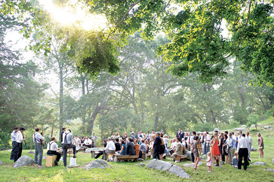 New York Wedding Guide The Reception Outdoor Venues New York