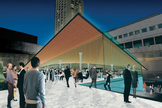 The Future North Plaza Of Lincoln Center Promises Daylong Bustle Rendering By Diller Scofidio Renfro Courtesy