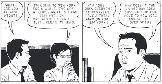 Q Amp A With Shortcomings Writer Adrian Tomine New York
