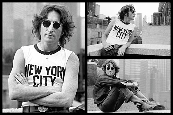 How An Iconic Portrait Of John Lennon Began With Photographer Bob Gruen S T Shirt New York Magazine Nymag