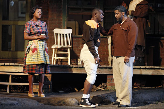 Scott Brown On Fences New York Magazine Theater Review