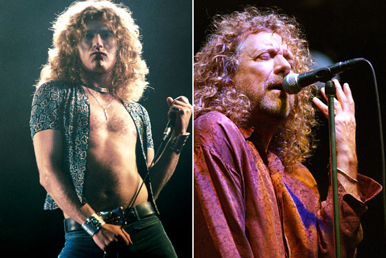 City Stylists Assess Robert Plant S Eternally Young Hair New York Magazine Nymag