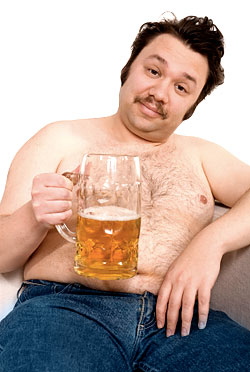 overweight drunk guys without an education don't make good beaus for women with PhDs
