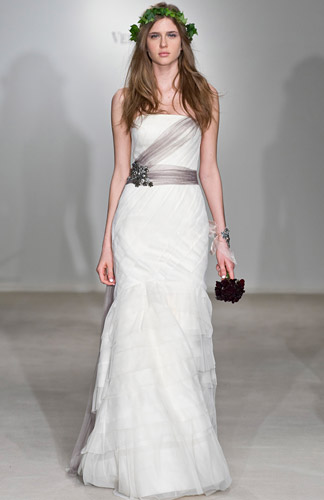 White by Vera Wang Wedding Dresses amp Gowns  Davids Bridal