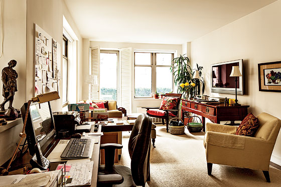 Angela Lansbury S Pied 224 Terre Near Central Park Home