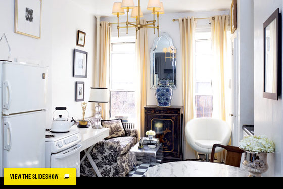 New York Design Hunting - Meaghan Kimball\'s Uptown Apartment ...