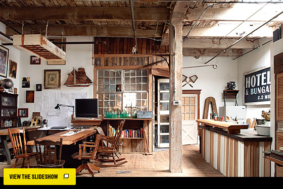 Evan and Oliver Haslegrave's Greenpoint Loft - Home Design Fall 2010