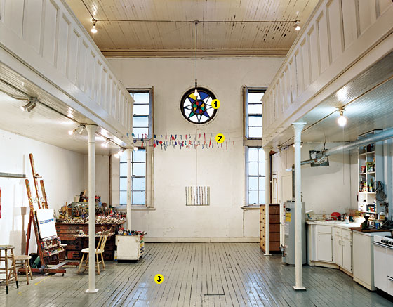 Great Room A Hester Street Synagogue Turned Artists