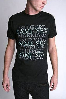 i support same sex marriage shirt in Syracuse