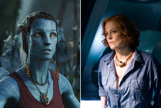 Does Giving Sigourney Weaver S Avatar Character A Belly Shirt Count As Female Empowerment James Cameron Slideshow Vulture