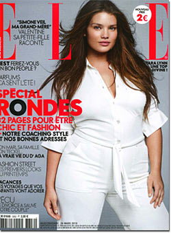 French Elle Devoted the April Issue to Plus-size Models