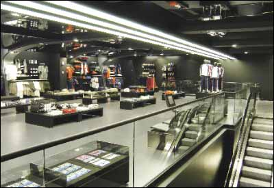 24c15b44b Adidas Sports Performance Store Opens in SoHo - The Latest Tumi ...