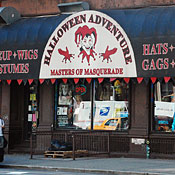 Halloween Adventure.Halloween Adventure East Village New York Store Shopping Guide