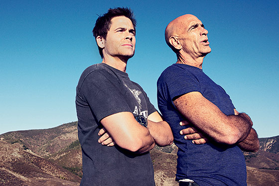 How Tom Barrack And Rob Lowe Are Making Money Off Of Distressed