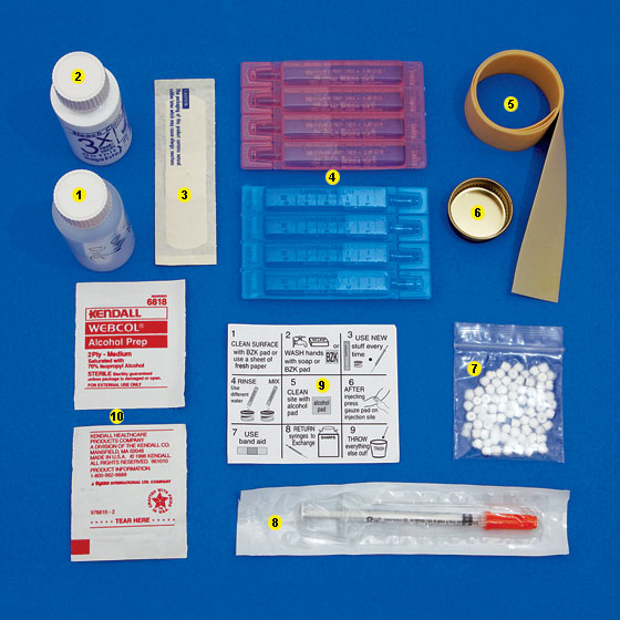 Artifact - A Clean-Injection Kit From Housing Works' Harm