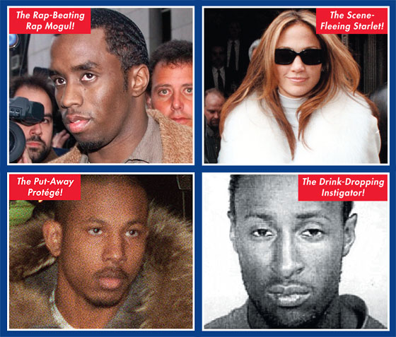 The History of New York Scandals - P  Diddy Shooting Case -- New