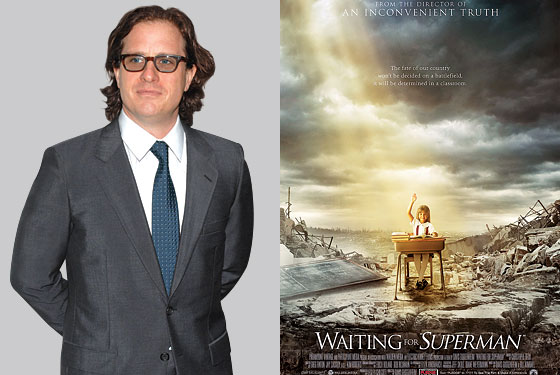 "how davis guggenheim s documentary waiting for ""superman"" will  schools the disaster movie"