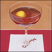 The Manhattan at Employees Only in Best of New York.