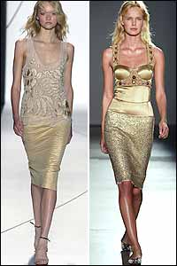 Blinding Trend in New York Spring 05 Fashion