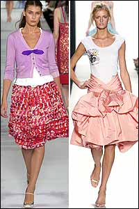 Big Skirt Trend in Spring 05 Fashion