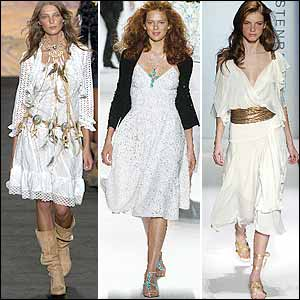 White Trend in New York Spring 05 Fashion