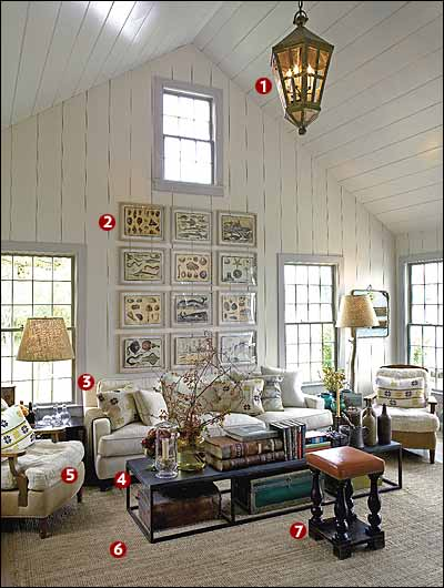 Sag Harbor House By P T Interiors With Images: A Sag Harbor Summer Cottage That's Open And Airy